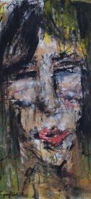face2, 68x47 cm, oil on canvas
